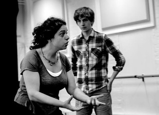 Rehearsals have started for BYO's double bill which opens in September at the Peacock Theatre.