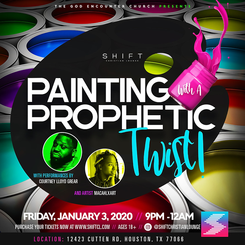 Painting With A Prophetic Twist!