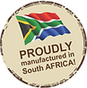Proudly an South African Registered Private Company and proudly manufactured in South Africa