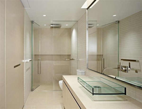 Vessel-Sink-and-Frame-less-Shower-No-Bathtub-De-Witt-Bathrooms-Blog-Image1