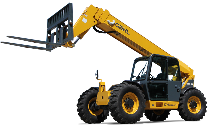 Depicted in this image is a Lifting Machine or otherwise known as a rough terrain forklift used to typically move around and stack crates or pellets and loading and offloading of trucks in South Africa