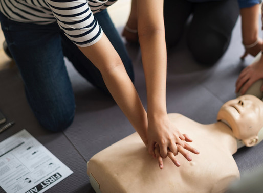 First Aid Training - Level 1, 2 & 3