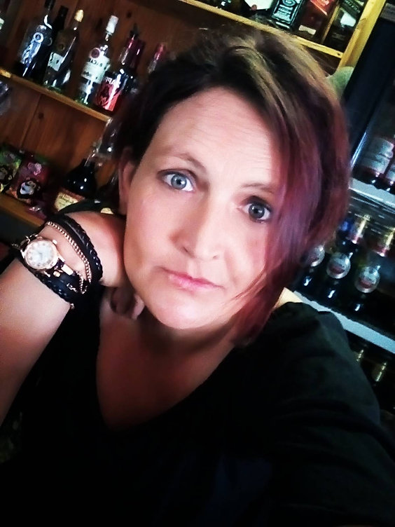 Nikki Horn our very own Bar Lady and in-house bar entertainment