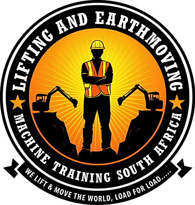 Official Logo for Lifting and Earthmoving Machine Training South Africa