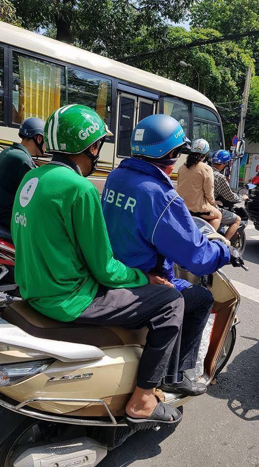 ベトナム 通勤ラッシュ