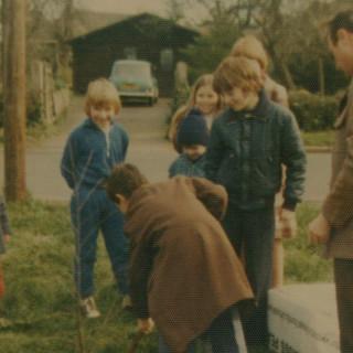 Pershore Road Jubilee Tree Planting 1977