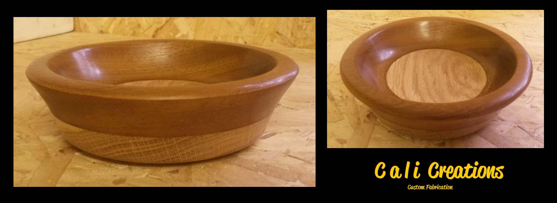 oak teak bowl