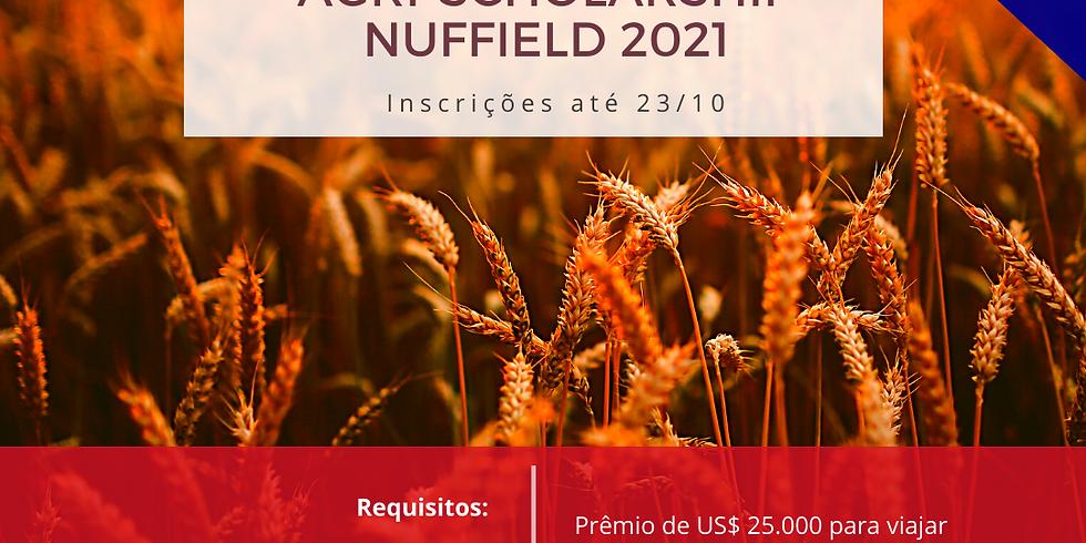 Prazo para Inscrição no Programa Agri-Scholarship Nuffield 2021