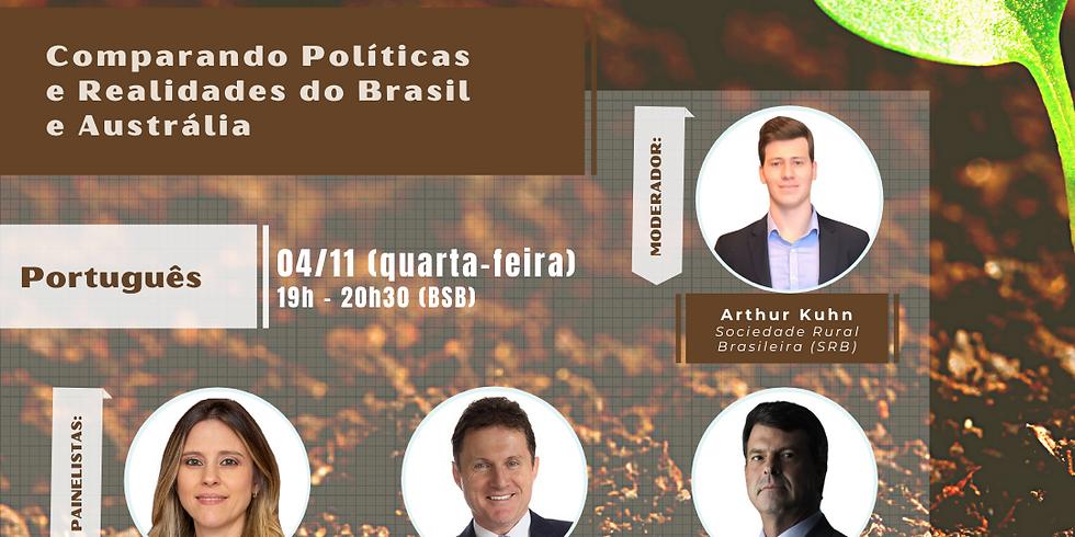 Comparando Políticas e Realidades do Brasil e Austrália