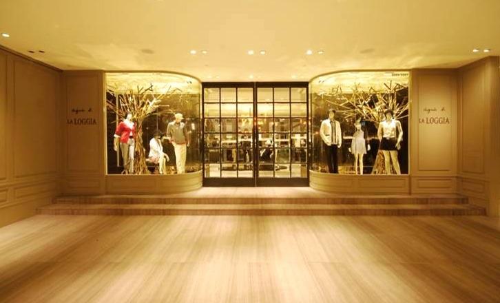 agnès b. LA LOGGIA bis, ifc mall, Hong Kong