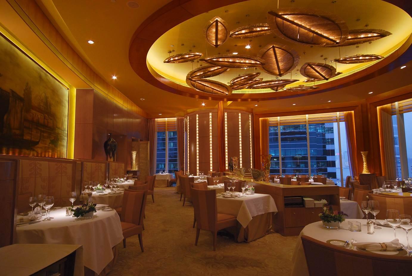 Nicholini's Italian Restaurant ,Conrad Hotel,  Hong Kong