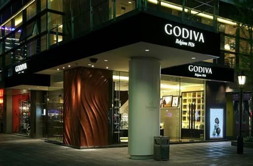 Godiva Flagship, Xintiandi, Shanghai, China