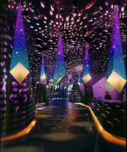 Light Sculpture for Courvoisier Marketing Campaign, China (2009)
