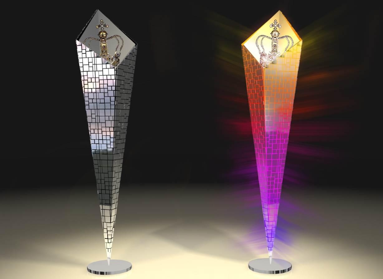 Light Sculpture for Courvoisier 1