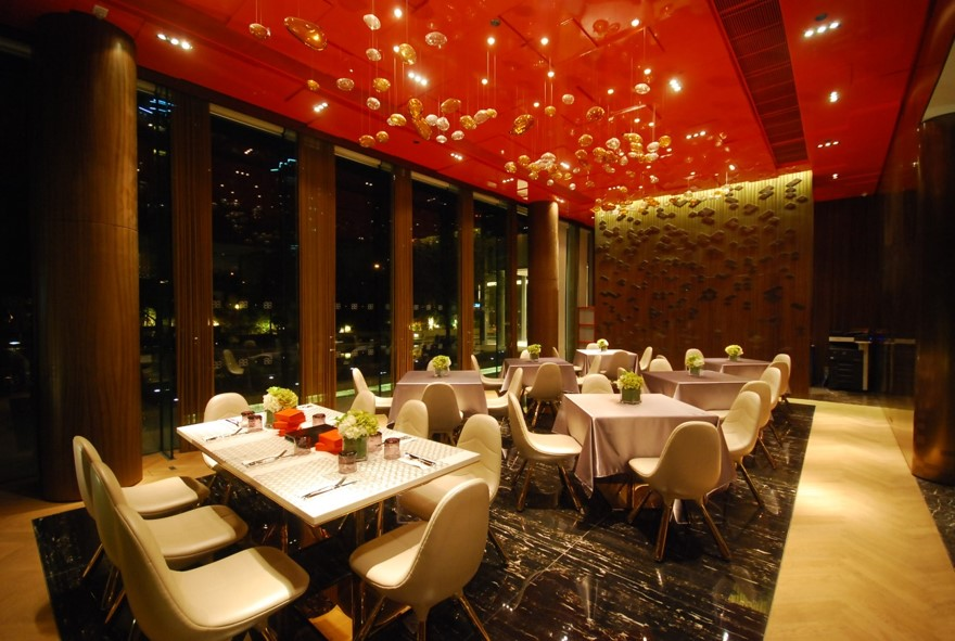 Club House, Residence 88, Hong Kong 4
