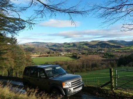 Fantasy tour around Wales; Day 4. Cambrian Mountains.