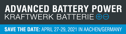 Battery Conference 2021// Aachen, Germany // 27-29 April