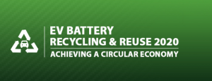 EV Battery Recycling & Reuse 2020/ Frankfurt, Germany // 30 November - 1 December