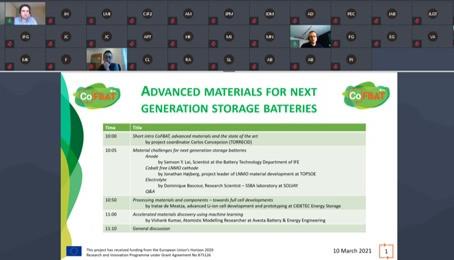 CoFBAT hosts its first online event