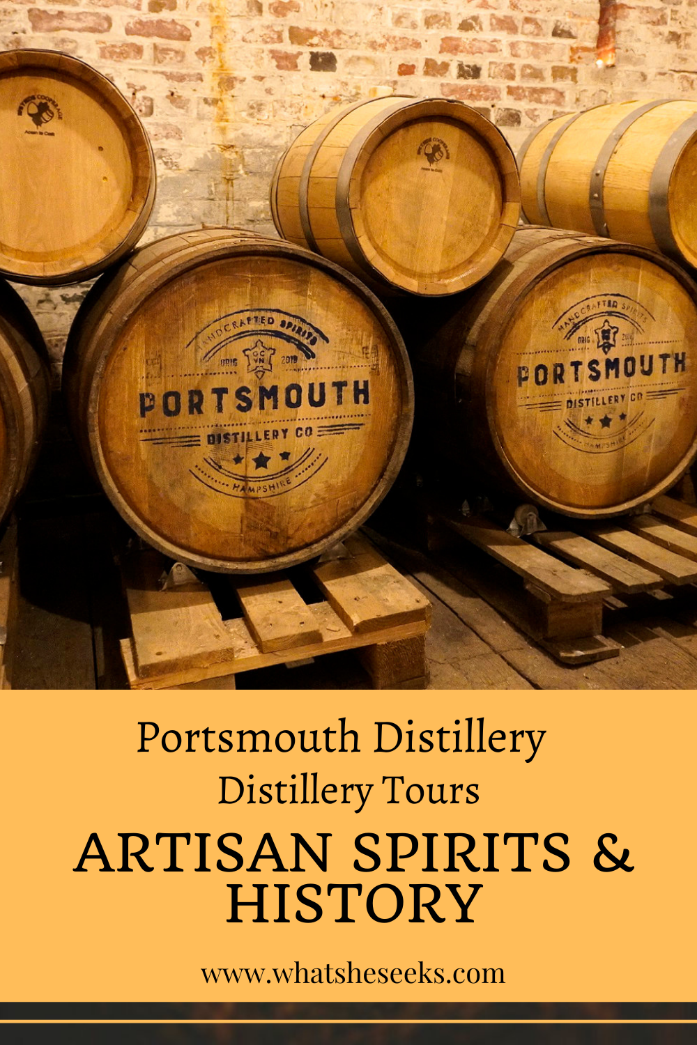 Portsmouth Distillery Tour
