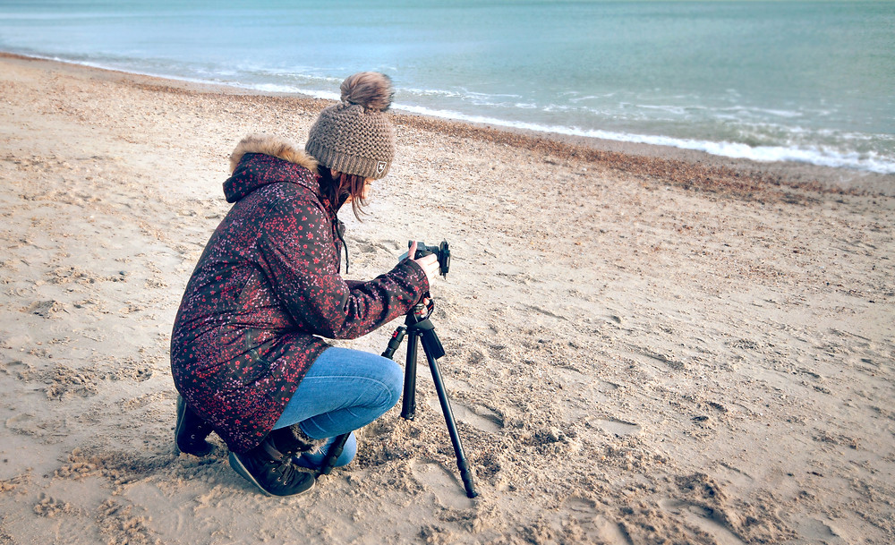 Beach photography, landscapes, capturing moments