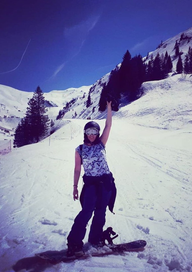 Last day on the slopes, France