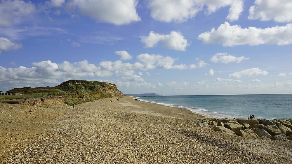 Hengistbury Head in Southbourne, Bournemouth, Dorset.