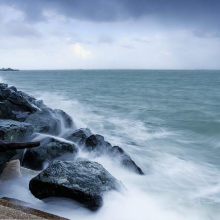 Coastal Scenery, Hampshire, UK