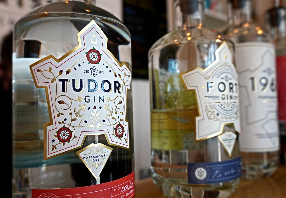 Tudor Gin by Portsmouth Distillary