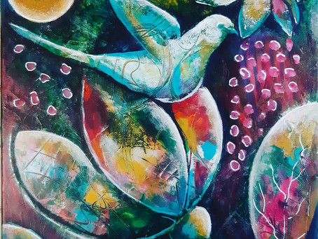 The Art Of Living - An Inspirational Story Of Following Your Dreams by Artist Sonia Nowak