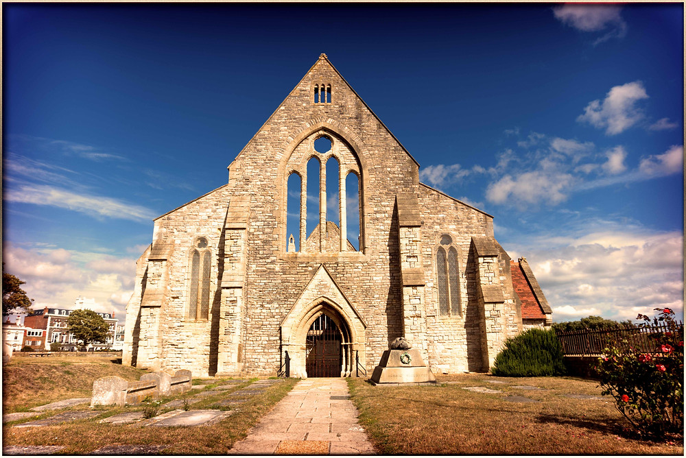 English Heritage Royal Garrison Church in Portsmouth, Hampshire