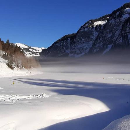 Lac de Montriond, Porte du Soleil, French Alps