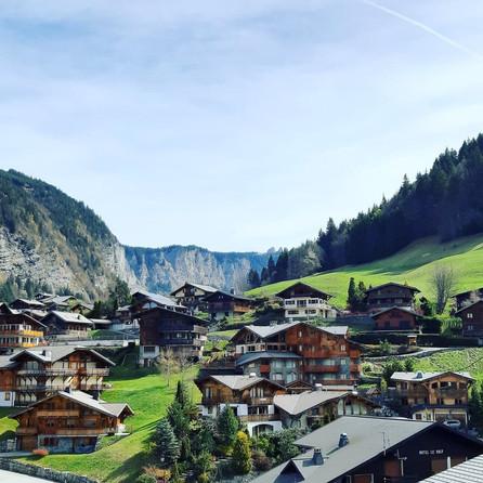 Morzine Village, French Alps
