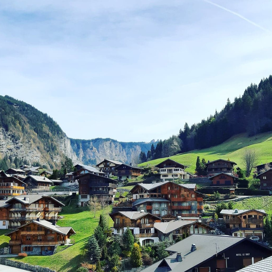 Morzine Village, French Alps