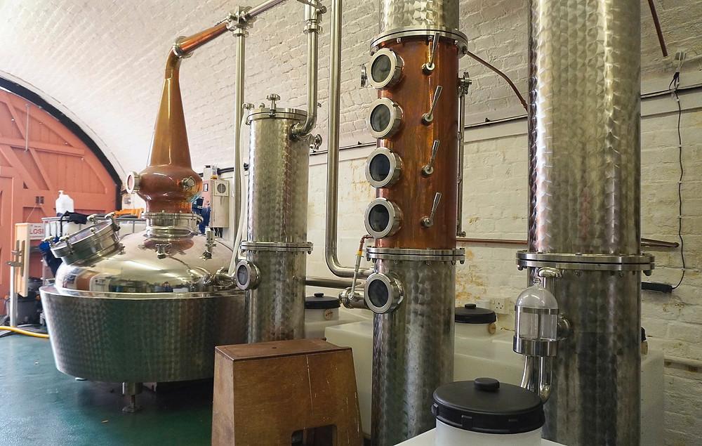 Gin rum distillery, Portsmouth Distillary
