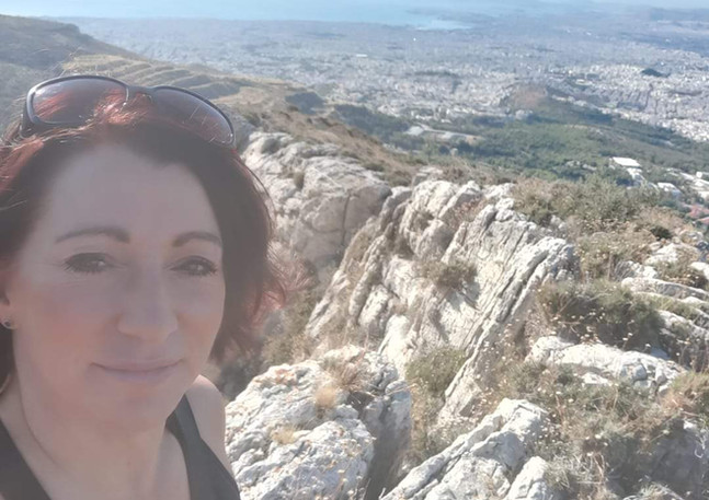 Hiking Above Athens