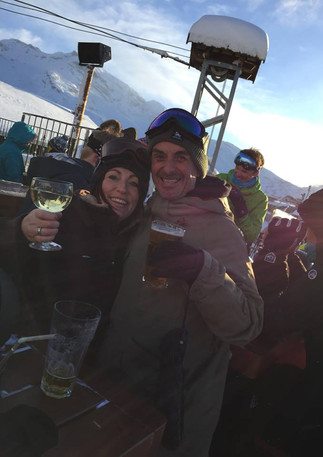 Apres ski in Avoriaz, France