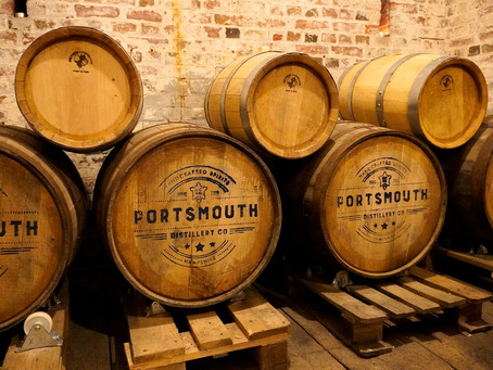 Delving into the world of Artisan Spirits and History at Portsmouth Distillery.