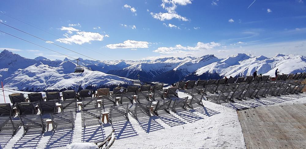 Davos Switzerland ski resort alps
