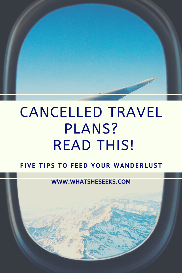 Are you missing travelling? Have you had to cancel a vacation this year? Try these five creative tips to keep adventure and wanderlust alive! Take your very own travel photos, try cooking an exotic dish or watch a travel inspired film. Read more... #whatsheseeks