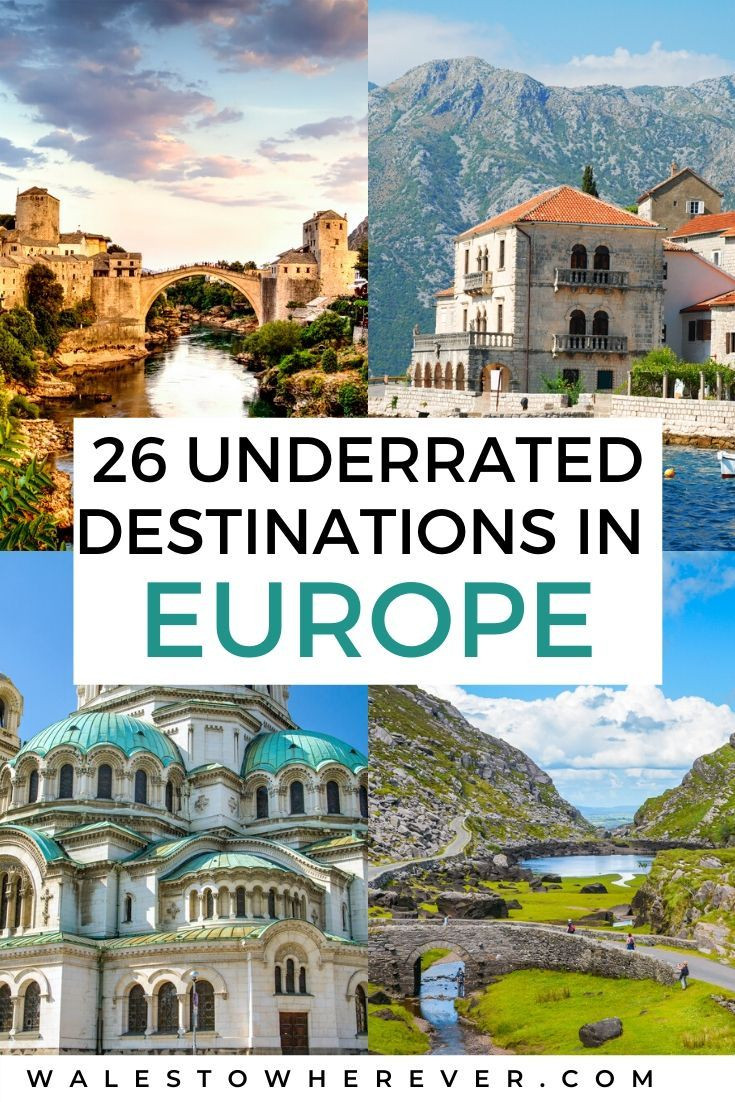 Travel planning in Europe for 20210