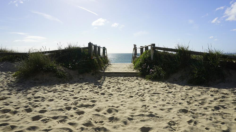 Southbourne Beach, Blue Flag Awared beach in Dorset
