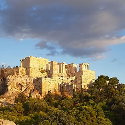 Amazing Acropolis in the early evening s