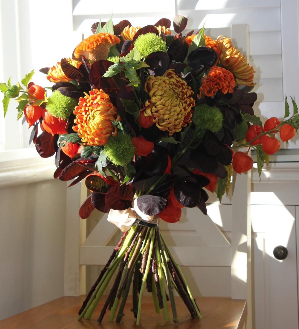 Autumn Flower Bouqet