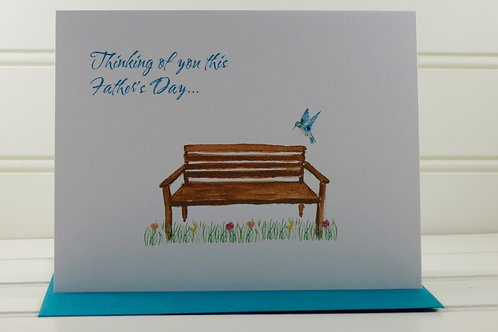 Fathers Day Grief Card