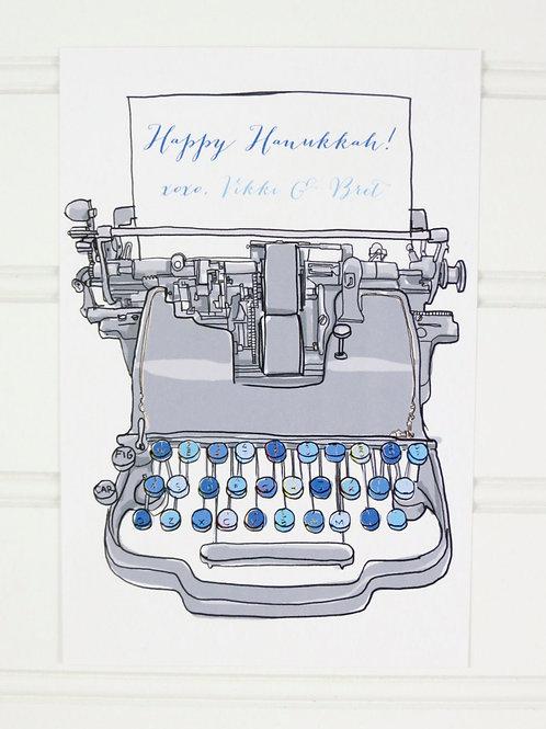 Hanukkah Postcards