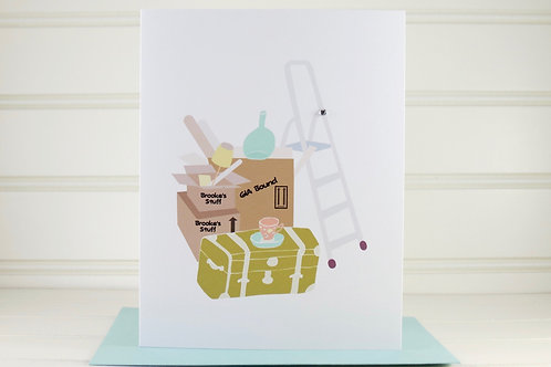 Personalized New Home Card