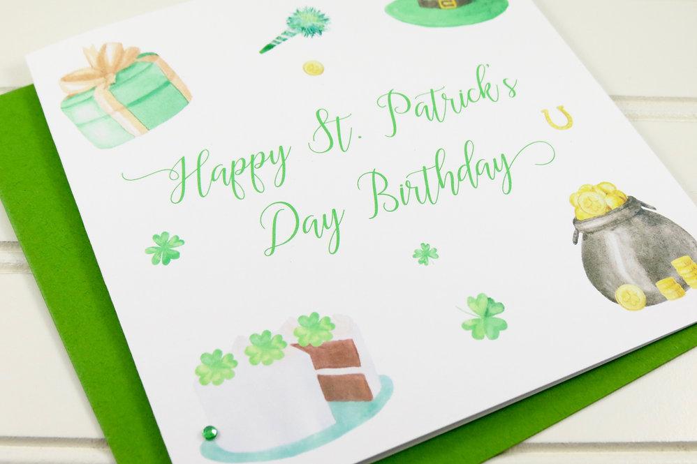 Happy St. Patricks Birthday Card by Play