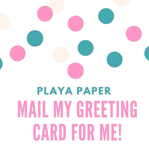 Mail A2-Size Card for Me