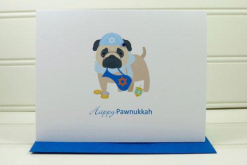 Dog Hanukkah Card